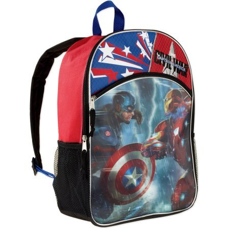 Captain America Kids Backpack