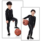 Minghe Boy's Base Layer Thermal Underwear Tops