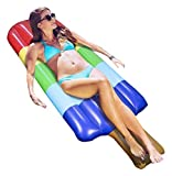 """Greenco GRC2516 Giant Inflatable Popsicle Ices Float 70""""es Long"""