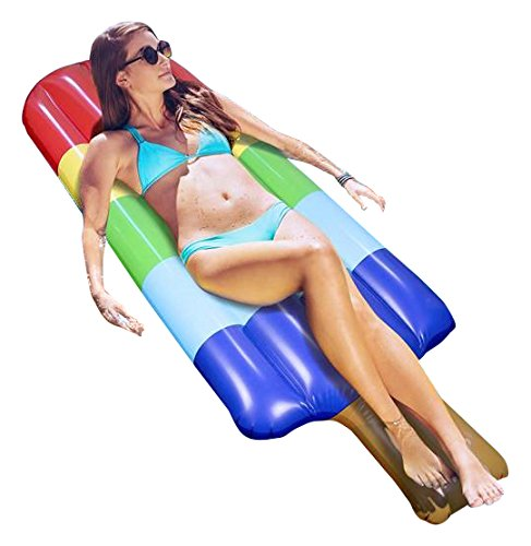 - Greenco Giant Inflatable Popsicle Ices Float 70 inches Long