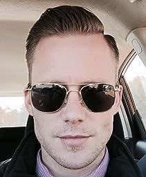 Amazon.com: AO Eyewear Original Pilot Sunglasses 52mm