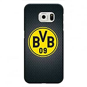 Samsung Galaxy S6 Edge Phone Cover,Borussia Dortmund teléfono celular Funda/teléfono Funda,Bundesliga FC BVB 09 Protective teléfono celular Funda/teléfono Funda,Ballspiel-Verein Borussia 1909 e.V. Dortmund Case