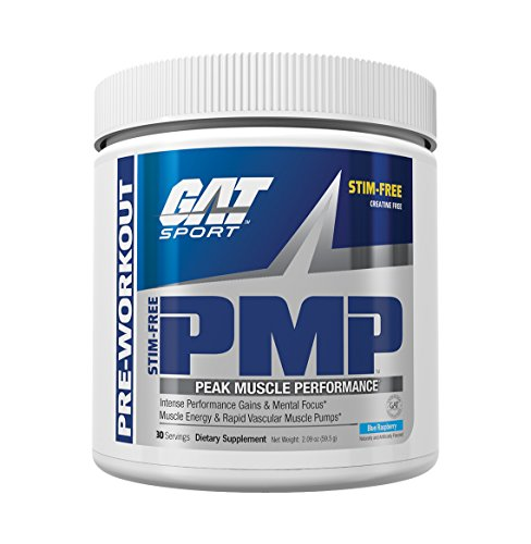 GAT PMP (Peak Muscle Performance), Next Generation Pre Workout Powder for Intense...