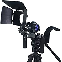 Fancierstudio FL02M DSLR Rig With Follow Focus Matte Box
