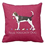 Treeing Walker Coonhound Christmas Pillowcases