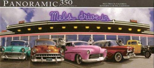 Mel's Drive-In California Panoramic 350 Piece (California Panoramic Puzzle)
