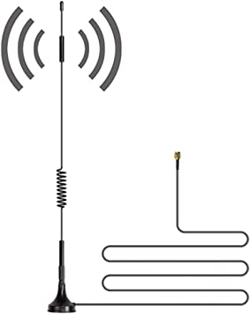 SiyuXinyi - Antena inalámbrica de Cobre Puro 4G LTE 3G para Mejorar la señal, Antena 4G para Mejorar la señal, Antena WiFi, Alarma, cámara de ...