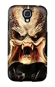 S0907 Predator Face Case Cover for Samsung Galaxy S4