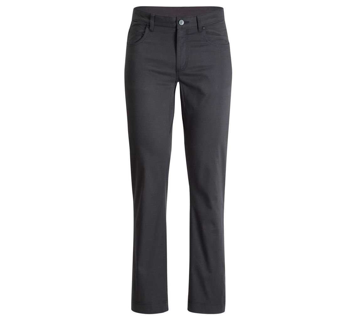 Schwarz Diamond  Herren Stretch Font Pants