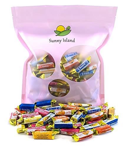 (Sunny Island Bulk - Arcor Vienna Assorted Fruits Filled Hard Candy Bulk, 2 Pounds Bag)