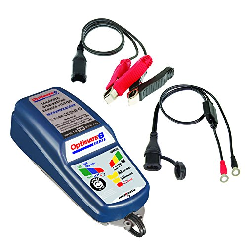 OptiMATE 6 Select, TM-191, 9-Step Battery Charger for 12V Starter and Deep Cycle - Deep Cycle Amp