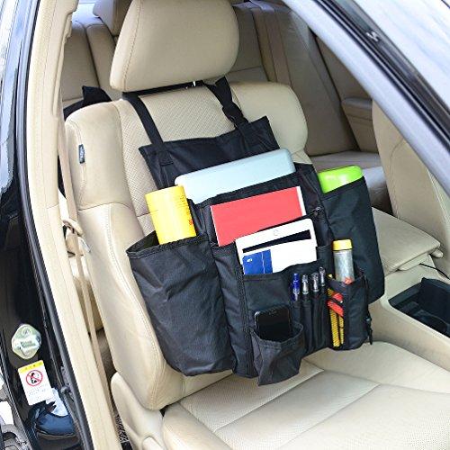 Haotom Car Front Seat Organizer Passenger Seat Organizer Car