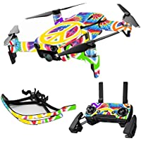 MightySkins Skin for DJI Mavic Air Drone - Peaceful Explosion | Max Combo Protective, Durable, and Unique Vinyl Decal wrap cover | Easy To Apply, Remove, and Change Styles | Made in the USA