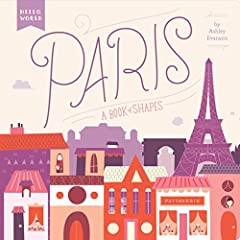 """""""This sophisticated and eye-catching introduction to shapes using the landmarks of Paris brings something special to a concept board book."""" - Seira Wilson, Amazon EditorIntroducing Hello, World, an exciting new board book series that pairs ea..."""