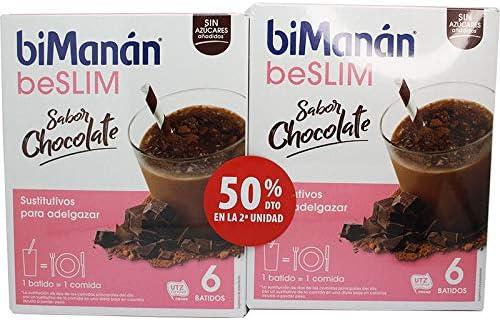 BIMANAN SUSTITUTIVE BATIDO CHOCOLATE 5+1, 2ª UNIDAD AL 50 ...