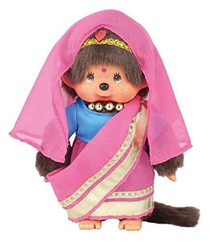 Monchhichi Sekiguchi Girl World India Girl Doll