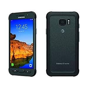 Samsung Galaxy S7 ACTIVE G891A 32GB Unlocked GSM Shatter-Resistant, Extremely Durable Smartphone w/ 12MP Camera - Titanium Gray (Certified Refurbished)