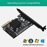 N N.ORANIE 4-Port SATA III 6Gbps PCIE RAID Host