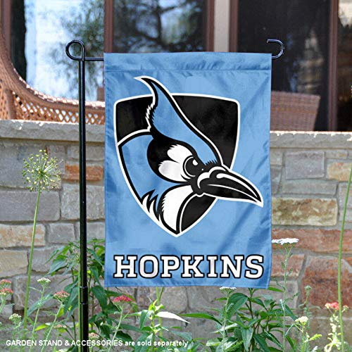 College Flags and Banners Co. Johns Hopkins Blue Jays Light Blue Garden Flag
