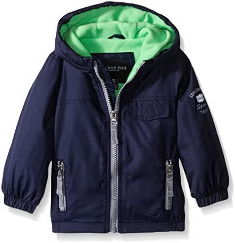 London Fog Baby-Boys Poly Fleece Lined Windbreaker