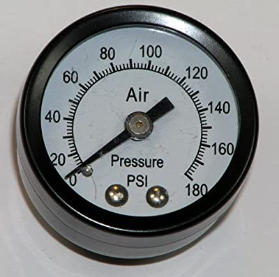 Stanley Bostitch Air Compressor Replacement PRESSURE GUAGE #AB-9414745