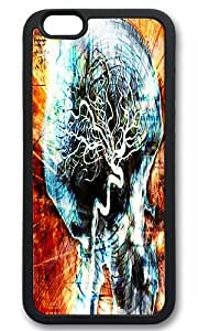 skull Maydsyb Personalized Protective Case for iPhone 6 (4.7'') by mcsharks