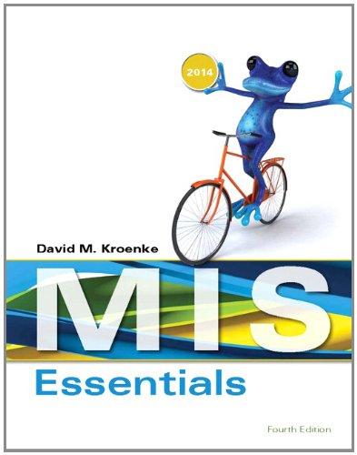 MIS Essentials (4th Edition)