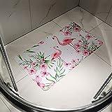 SENCOL Updated Bathtub Mat for Shower Non-Slip Bath Mat Bathroom Bathtub Mat with Suction Cups Shower Stall Mat Non Slip Mat PVC Material Machine Washable