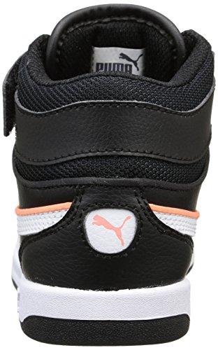 Puma Liza Mid - Zapatillas para hombre Nero (Nero (Black/White))