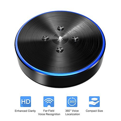 Cheap  Wireless Speakerphone - Conference Phone OfficeCore M1 Black Bluetooth Speaker Conferencing Speakerphone..
