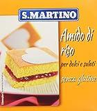 S.Martino - Amido di Riso Senza Glutine - Astuccio 180G