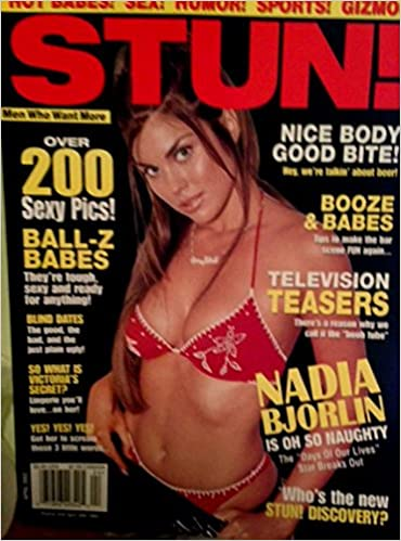 Opinion nadia bjorlin sex with you