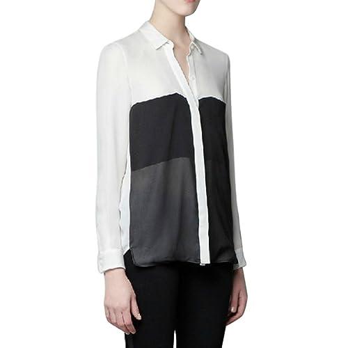 LOBZON - Camisas - Rayas - Clásico - para mujer
