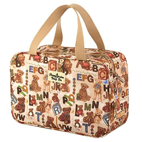 Bears Duffle - Cute Toiletry Bag, Yeiotsy Multifunctional TShower Bag ravel Toiletry Bag Waterproof Gym Bag Home Use Cosmetic Bag Duffle Weekender (Teddy Bear)