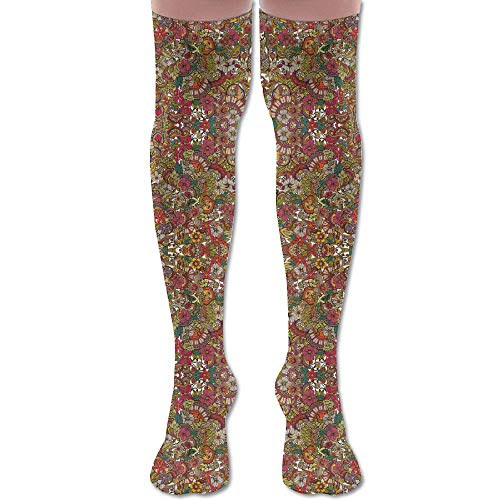 45a66fd329 DFAUHAL I Spy (Colors) Wallpaper Knee High Graduated Compression Socks for  Unisex - Best