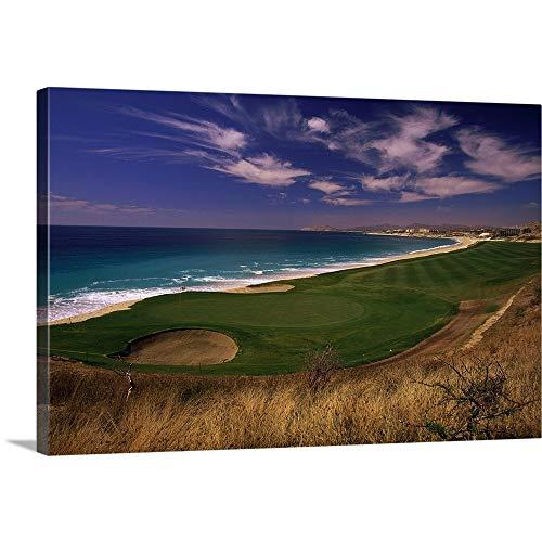 El Dorado Golf Course, Cabo San Lucas, Mexico Canvas Wall Art Print, - Golf Cabo