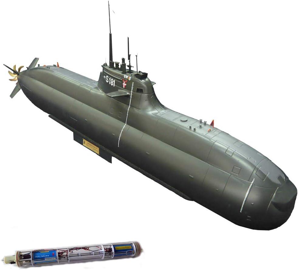 Arkmodel KIT,1/48 German Type 212 Class Italian Todaro AIP 212A U31 Submarine Navy Marine Ship Model Unassembled KIT,212A with Double Pistons