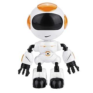 Alomejor Giocattolo del Robot di Tocco sensibile, JJRC R8 Mini Lega di induzione Tocco sensibile LED Occhi Corpo Fai da Te Gesto Intelligente Modello di Robot Giocattoli
