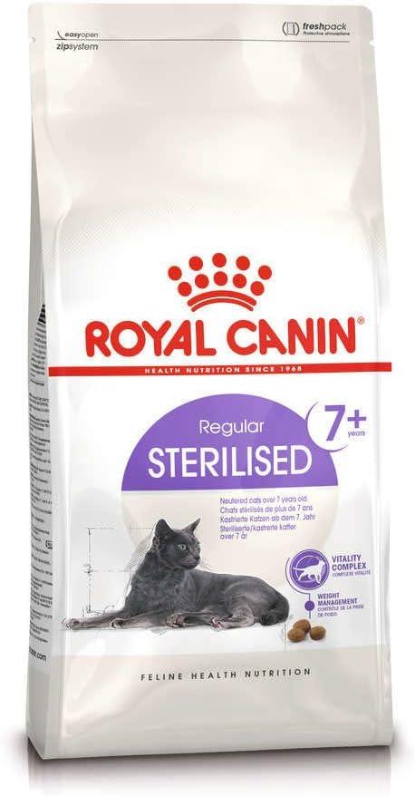 Royal Canin 55128 esterilizado 10 kg - comida para gatos: Amazon ...