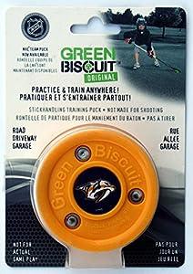 Green Biscuit Original NHL Nashville Predators Puck