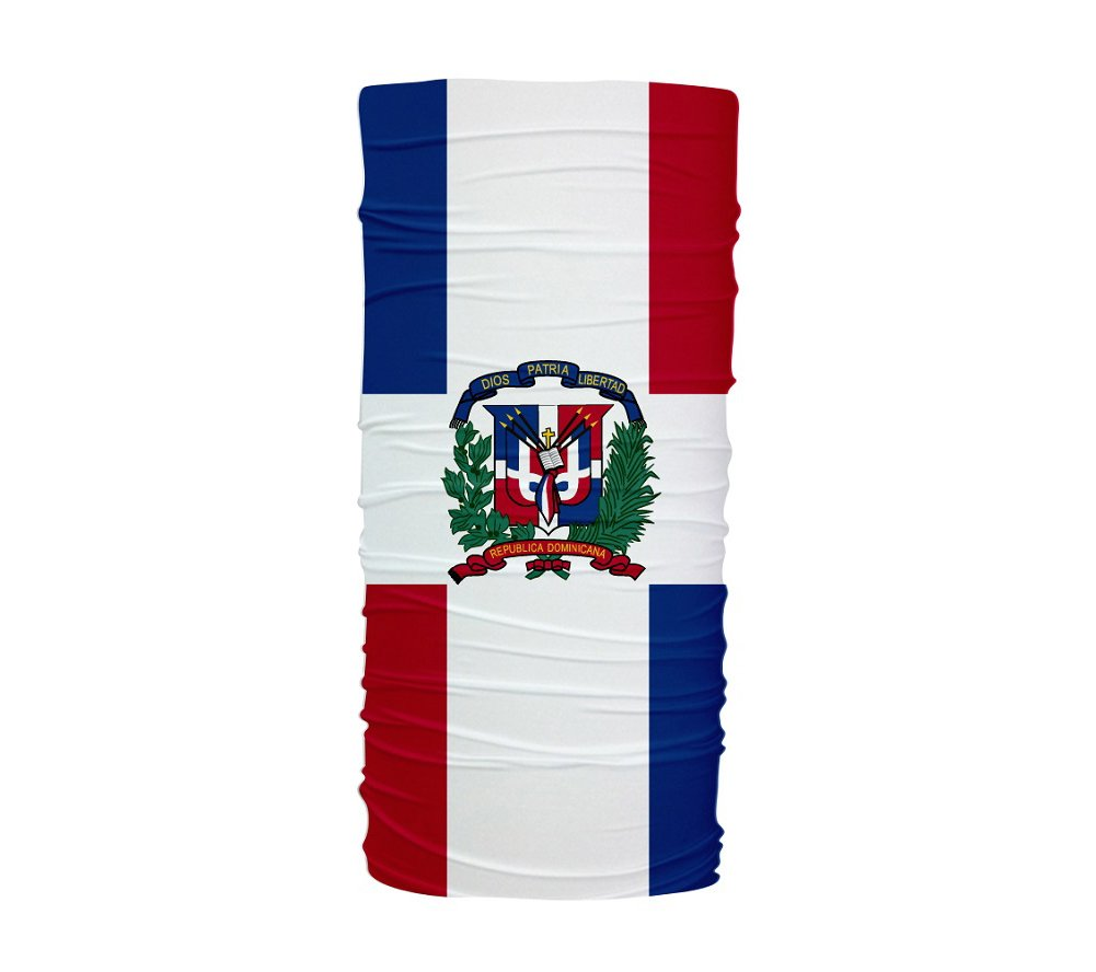 amazon com dominican republic flag multifunctional uv protection