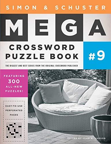 Simon & Schuster Mega Crossword Puzzle Book #9 (9) (S&S Mega Crossword Puzzles)