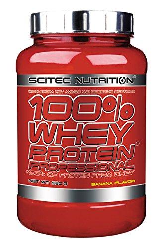 Scitec Nutrition Whey Protein Professional proteína plátano 920 g: Amazon.es: Alimentación y bebidas