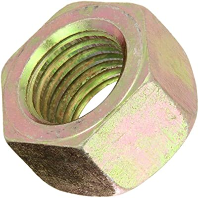 5//16X18 BRONZE COLORED HEX SERRATED LOCK NUT HARDENED TOTAL OF 50