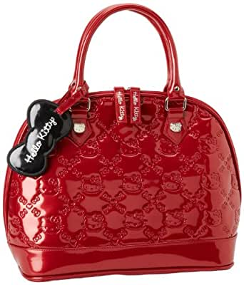 Hello Kitty SANTB0506 Satchel,Red,One Size