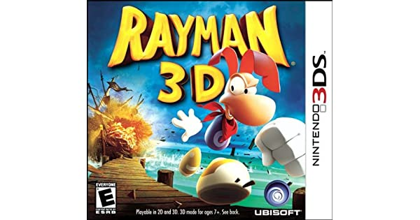 Ubisoft Rayman 3D, 3DS - Juego (3DS, 3DS): Amazon.es: Videojuegos