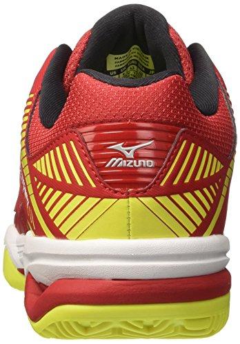 Yellow Uomo Scarpe Rossomarsred safety Mizuno Da Tour Cc Tennis 3 Wave Exceed white lF1TKJc
