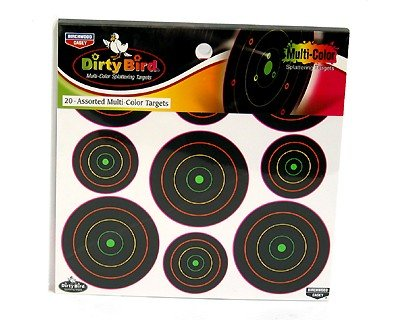 Birchwood Casey Dirty Bird Targets, 2 & 3 Targets, 180ct