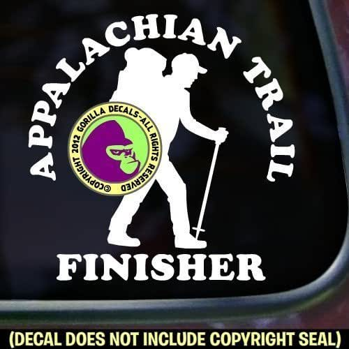 Amazon.com: APPALACHIAN TRAIL FINISHER Hiking Vinyl Decal