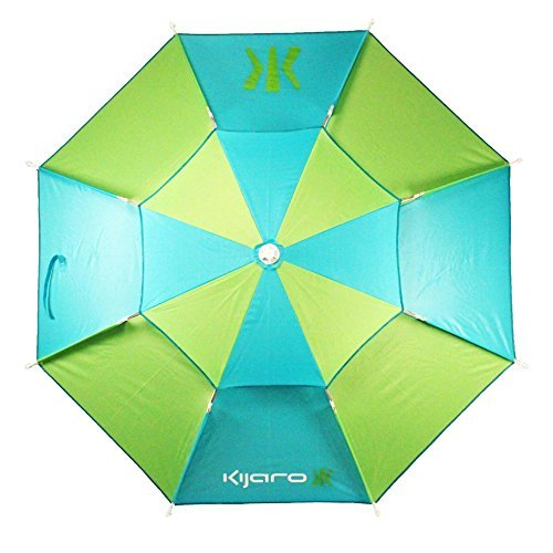 Kijaro 7 ft. Coast Beach Umbrella with Sand Spike